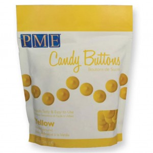 PME CANDY BUTTONS GELB 340g