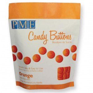 PME Candy Buttons Orange 340g