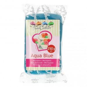 Funcakes Marzipan Aqua Blau 250Gramm