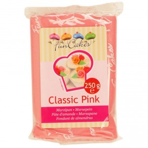 Funcakes Marzipan Classic Pink 250Gramm