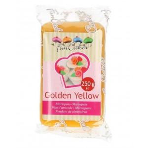 Funcakes Marzipan Golden Gelb 250Gramm