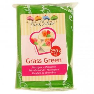 FUNCAKES MARZIPAN GRASS GREEN