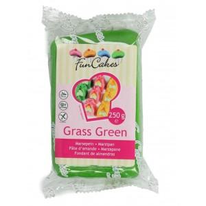 Funcakes Marzipan Grass Grün 250Gramm