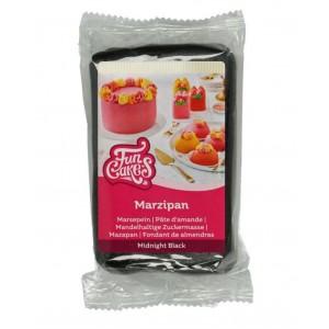 Funcakes Marzipan Midnight Schwarz 250Gramm
