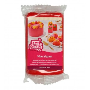 Funcakes Marzipan Passion Rot 250Gramm
