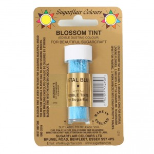 Sugarflair Pulverfarbe Petal Blue 7ml