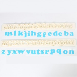 FMM AUSSTECHER ART DECO ALPHABET LOWER CASE