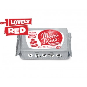 Massa Ticino Tropic Rollfondant Rot 250Gramm