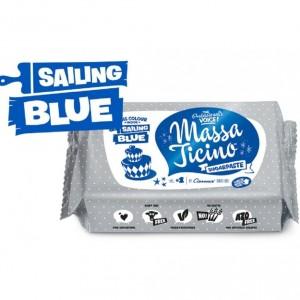 Massa Ticino Tropic Rollfondant Blau 250Gramm