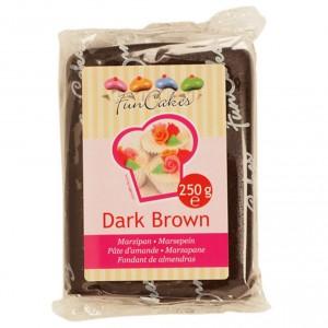 Funcakes Marzipan Dark Braun 250Gramm