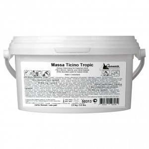 MASSA TICINO TROPIC ROLLFONDANT WHITE 2,5KG