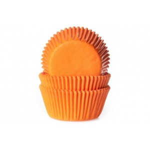 HOM CUPCAKE CUPS ORANGE 50STÜCK