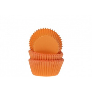 HOM MINI CUPCAKE CUPS ORANGE 60STÜCK