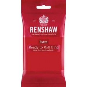 Renshaw Extra Rollfondant Red 250g