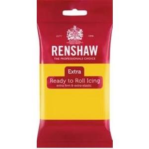 Renshaw Extra Rollfondant Yellow 250g