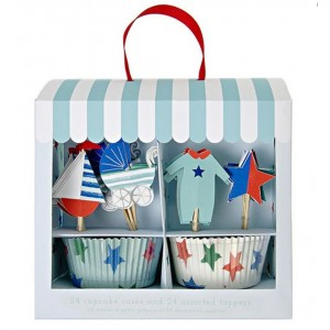 MERI MERI BABY SHOP BLUE CUP CAKE KIT