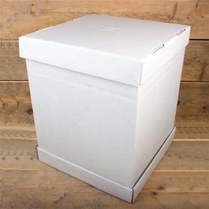 Extrahoher Tortenkarton 37*37*45cm