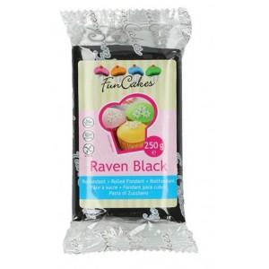 Funcakes Rollfondant Raven Black 250g