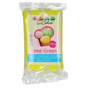 Funcakes Rollfondant Lime Green 250g