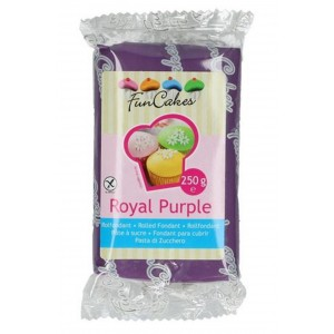 Funcakes Rollfondant Royal Purple 250g