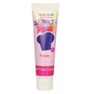 Funcakes Gelfarbe Purple 30Gramm