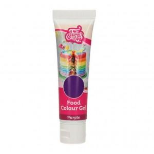 Funcakes Gelfarbe Violett 30Gramm