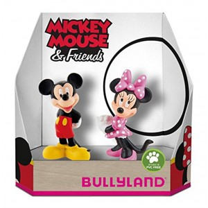 Disney Figur Mickey Mouse & Minnie Mouse Set