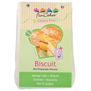 Funcakes Mix für Biskuit Glutenfrei 500Gramm