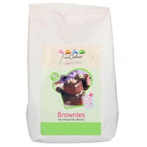 Funcakes Mix für Brownies Glutenfrei 500Gramm