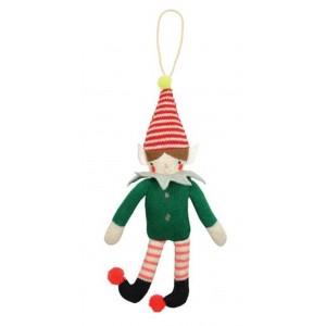 MERI MERI Weihnachtsschmuck Elf Knitted Ornament