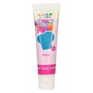 Funcakes Gelfarbe Aqua 30Gramm