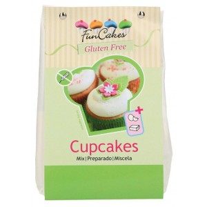 Funcakes Mix für Cupcakes Glutenfrei 500g