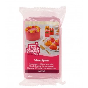 Funcakes Marzipan Soft Pink 250Gramm