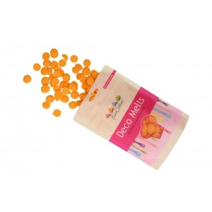 FUNCAKES DECO MELTS ORANGE 250G