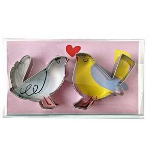MERI MERI AUSSTECHER LOVE BIRDS 2STÜCK