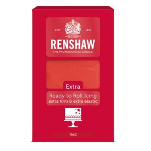 Renshaw Extra Rollfondant Red 1kg