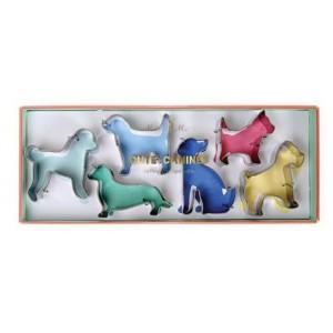 Meri Meri Ausstecher Cute Canines 6Stück