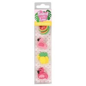 BwL Zuckerdekor Flamingo Mix 10Stück