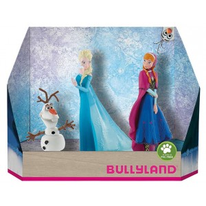 Disney Frozen Elsa Anna Olaf Set 3 Figuren