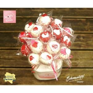 JW Valentinstag Cake Pop