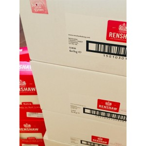 Renshaw Extra Rollfondant White 6*1kg