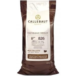 Callebaut Schokolade 826 31,7% 2*10kg