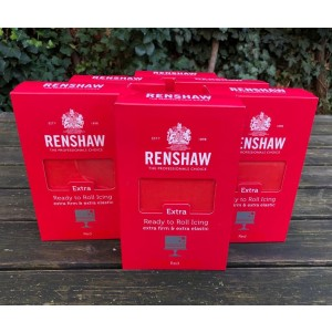 Renshaw Extra Rollfondant Red 6*1kg